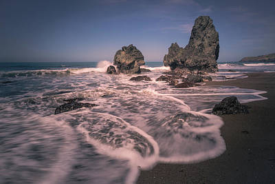 Photograph - Rodeo Beach Waves by Laura Macky
