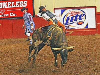 Photograph - Rodeo by Bob Zeller