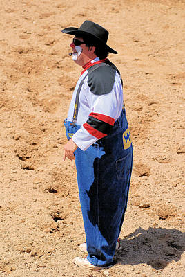 Photograph - Rodeo Clowns by Cheryl Poland