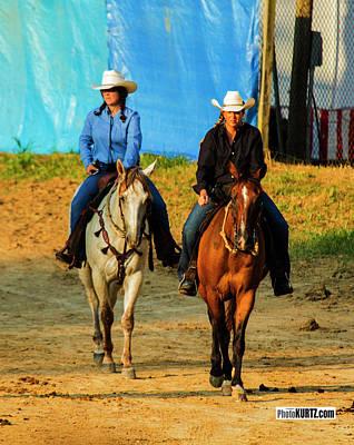 Photograph - Rodeo Contenders by Jeff Kurtz