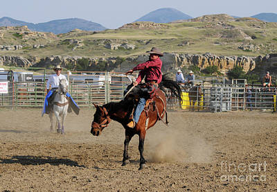 Photograph - Rodeo Cowboy 2 by Vivian Christopher