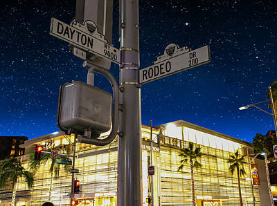 Photograph - Rodeo Dr. And Dayton Way by Robert Hebert