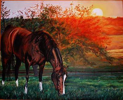 Painting - Rodeo Entry by Kaley LaRose