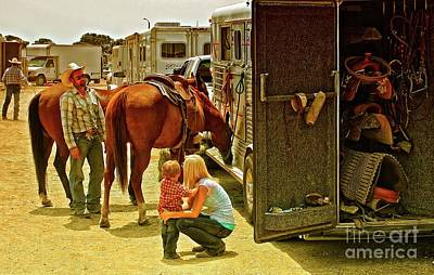 Rodeo Family Original by Gus McCrea