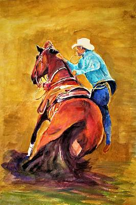 Painting - Rodeo by Khalid Saeed