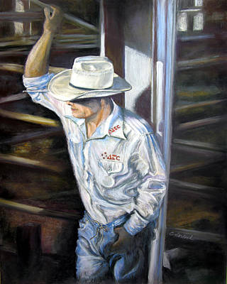 Pastel - Rodeo Ready by Carole Haslock