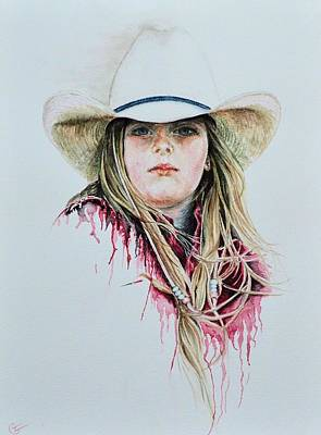 Painting - Rodeo Red by Traci Goebel