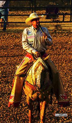 Photograph - Rodeo Ringmaster by Jeff Kurtz