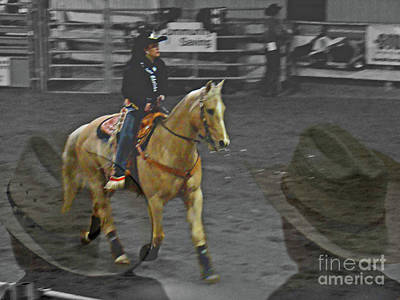 Bull Riders Photograph - Rodeo Royalty IIi by Al Bourassa
