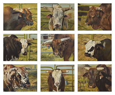 Painting - Rodeo Royalty by Lori Brackett