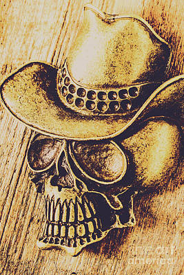 Western Art Photograph - Rodeo Spook by Jorgo Photography - Wall Art Gallery