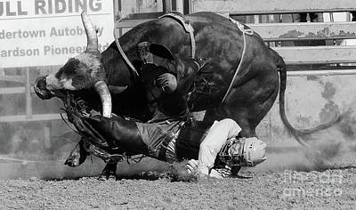 Bull Riding Photograph - Rodeo Stars 10 by Bob Christopher