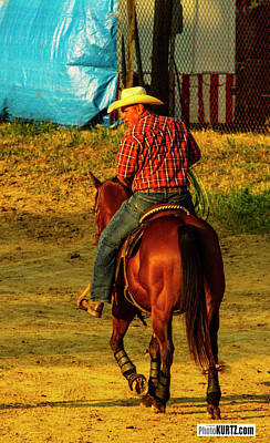 Photograph - Rodeo Thoughts by Jeff Kurtz