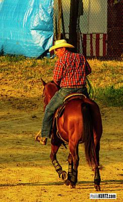 Photograph - Rodeo Thoughts by Jeff Kurtz
