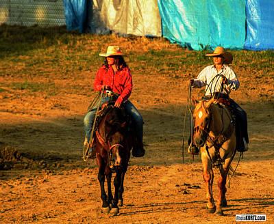 Photograph - Rodeo Wannabees by Jeff Kurtz