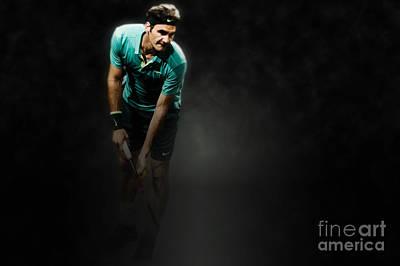 Roger Federer Photograph - Rodger Federer by Yordan Rusev