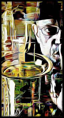 Digital Art - Rodger Lewis by Lynda Payton