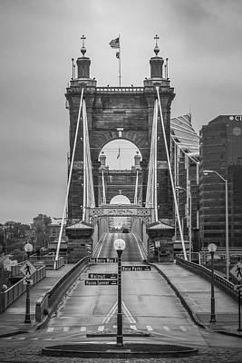Photograph - Roebling Bridge by Scott Meyer