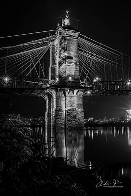Butterflies Rights Managed Images - Roebling in Black and White Royalty-Free Image by Andrew Johnson