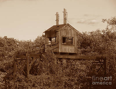 Photograph - Roebling Steel Mill Watch Tower by Olivier Le Queinec