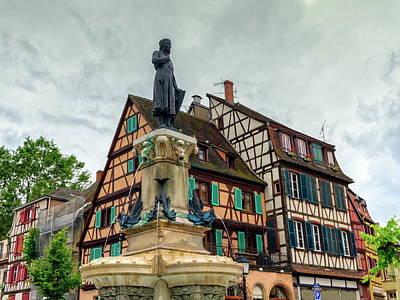 Photograph - Roesselmann Fountain, Colmar, France by Elenarts - Elena Duvernay photo