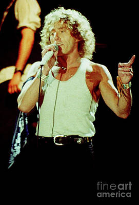Concert Photograph - Roger Daltrey-94-0182 by Timothy Bischoff