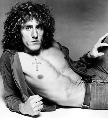 Barechested Photograph - Roger Daltrey, Circa Early-mid 1970s by Everett