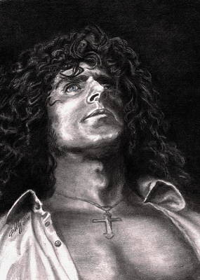 Famous People Drawing - Roger Daltry by Kathleen Kelly Thompson