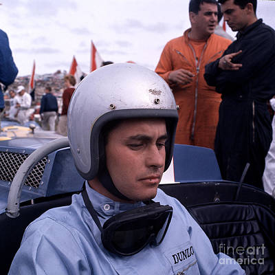 Roger Penske Photograph - Roger Penske On Pregrid by Robert Blasdale