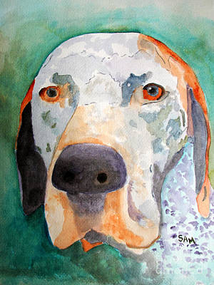 Painting - Roger by Sandy McIntire