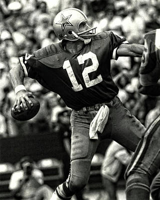 Photograph - Roger Staubach by Doc Braham