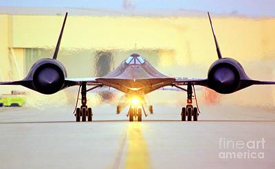 Photograph - Roger That - Sr71 Jet by Greg Moores