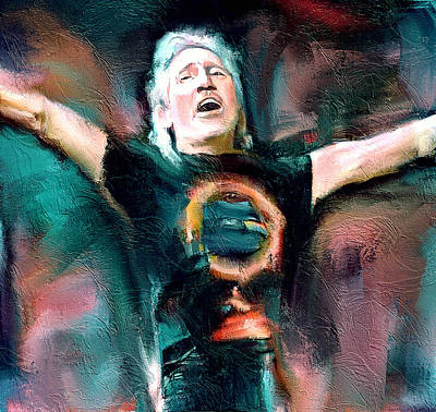 Digital Art - Roger Waters Forever by Yury Malkov