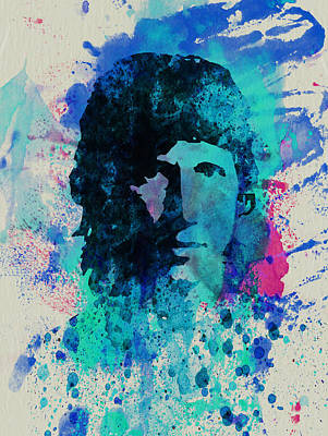 Pink Painting - Roger Waters by Naxart Studio