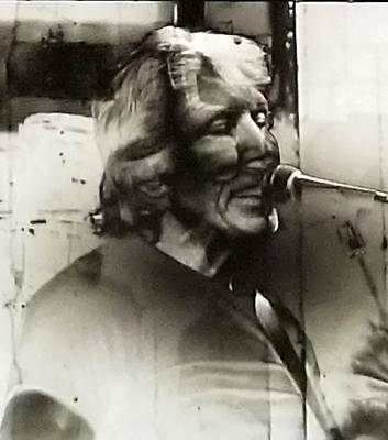Photograph - Roger Waters Negative by Rob Hans