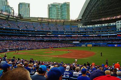 Photograph - Rogers Center/sky Dome by Christopher James