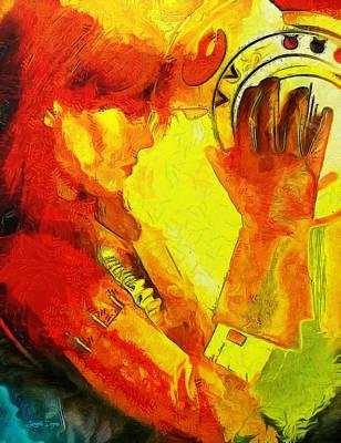 Glove Digital Art - Rogue One Anthology - Da by Leonardo Digenio