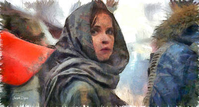 Hidden Face Digital Art - Rogue One Dissimulation - Da by Leonardo Digenio