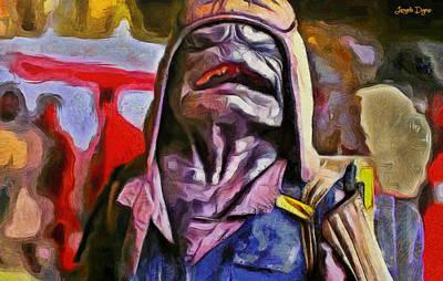 Rogue One Happy Pao - Da Art Print by Leonardo Digenio