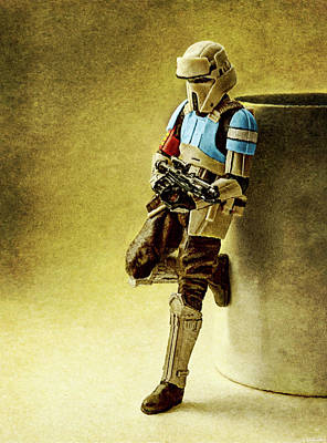 Digital Art - Rogue One Scarif Stormtrooper by Weston Westmoreland