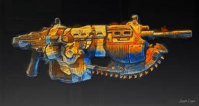 Rogue One The Cutting Edge Weapon - Da Art Print