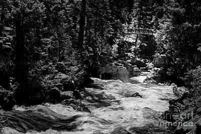 Photograph - Rogue River Natural Bridge by David Millenheft