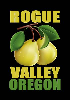 Pear Tree Mixed Media - Rogue Valley, Oregon by Otis Porritt