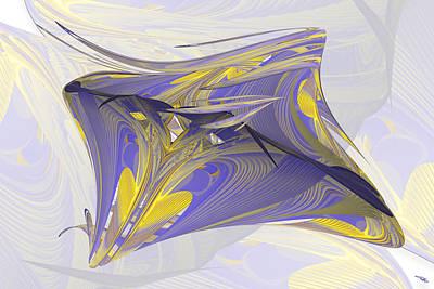 Digital Art - Roles Roll by Warren Lynn