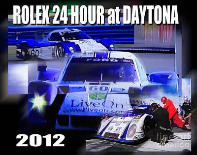 Rolex Daytona Art Print