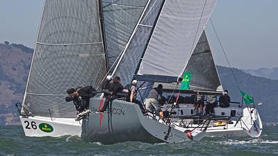 Photograph - Rolex Regatta 2014 by Steven Lapkin