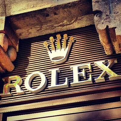 #rolex #watch #igdaily #android #ighub Art Print by Tommy Tjahjono