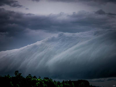 Photograph - Roll Cloud 001 by Philip Rispin
