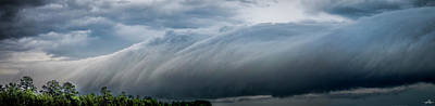 Photograph - Roll Cloud 01 by Phil Rispin