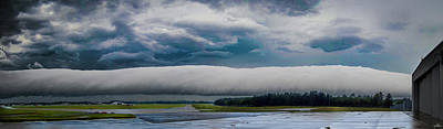 Photograph - Roll Cloud 03 by Philip Rispin
